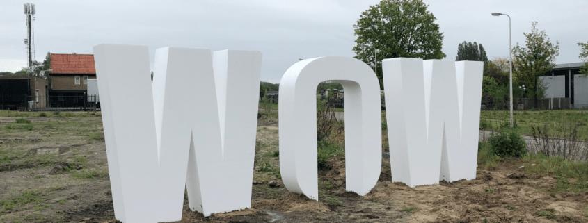 mega grote piepschuim letters